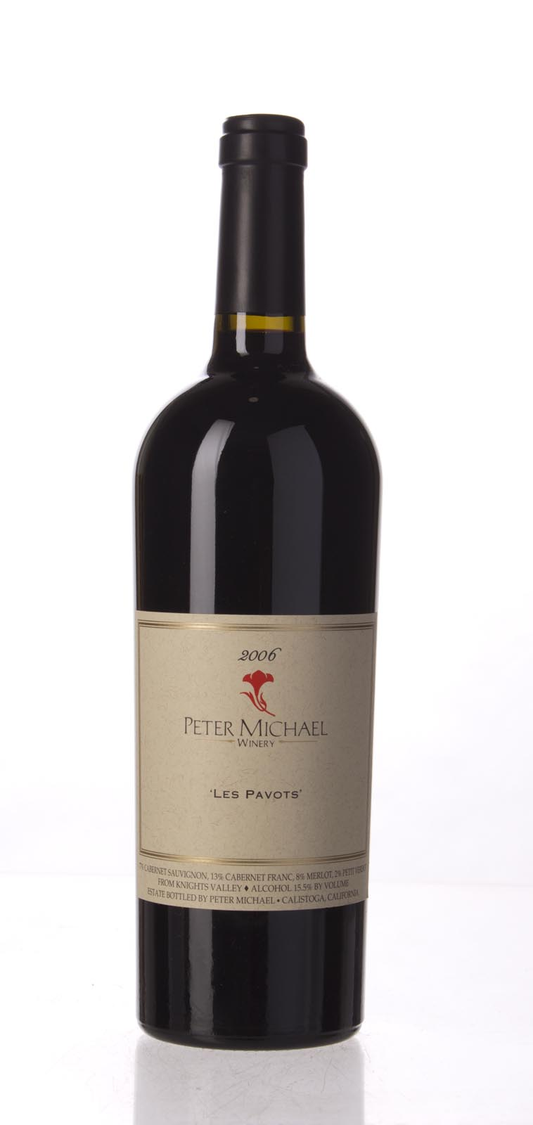 Peter Michael Winery Proprietary Red Les Pavots 2006, 750mL (WA96, ST94, WS95) from The BPW - Merchants of rare and fine wines.