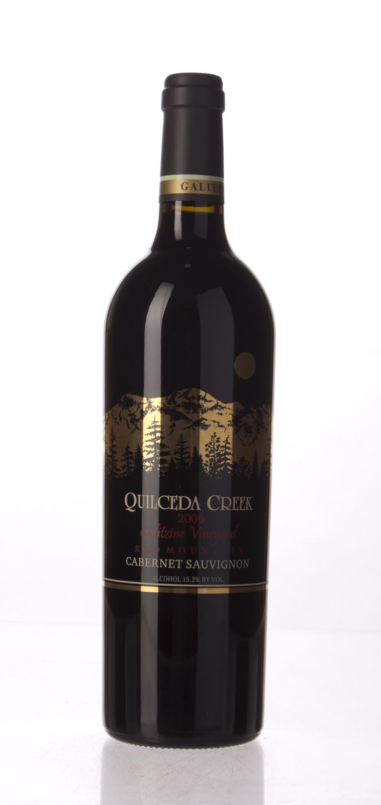 Quilceda Creek Cabernet Sauvignon Galitzine Vineyard 2006, 750mL (WA96, ST94) from The BPW - Merchants of rare and fine wines.