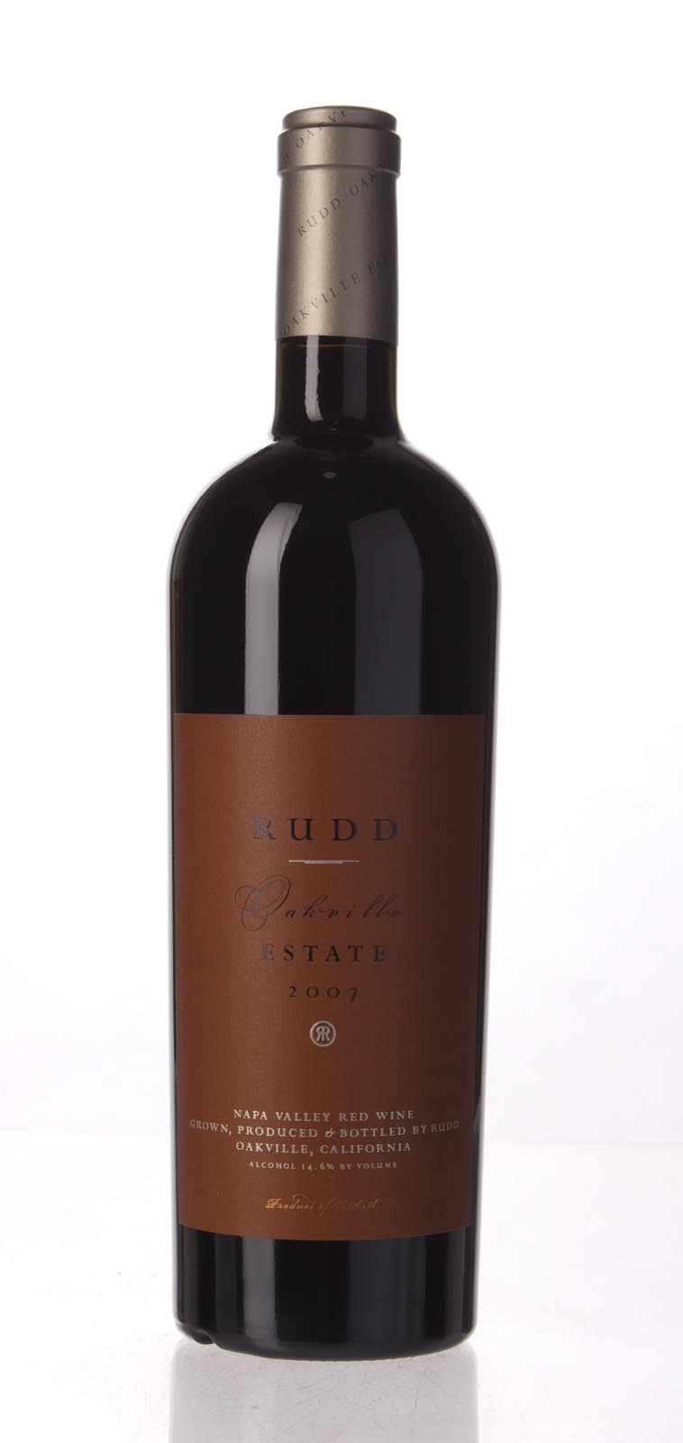 Rudd Estate Proprietary Red Oakville Estate 2007, 750mL (WA98+) from The BPW - Merchants of rare and fine wines.