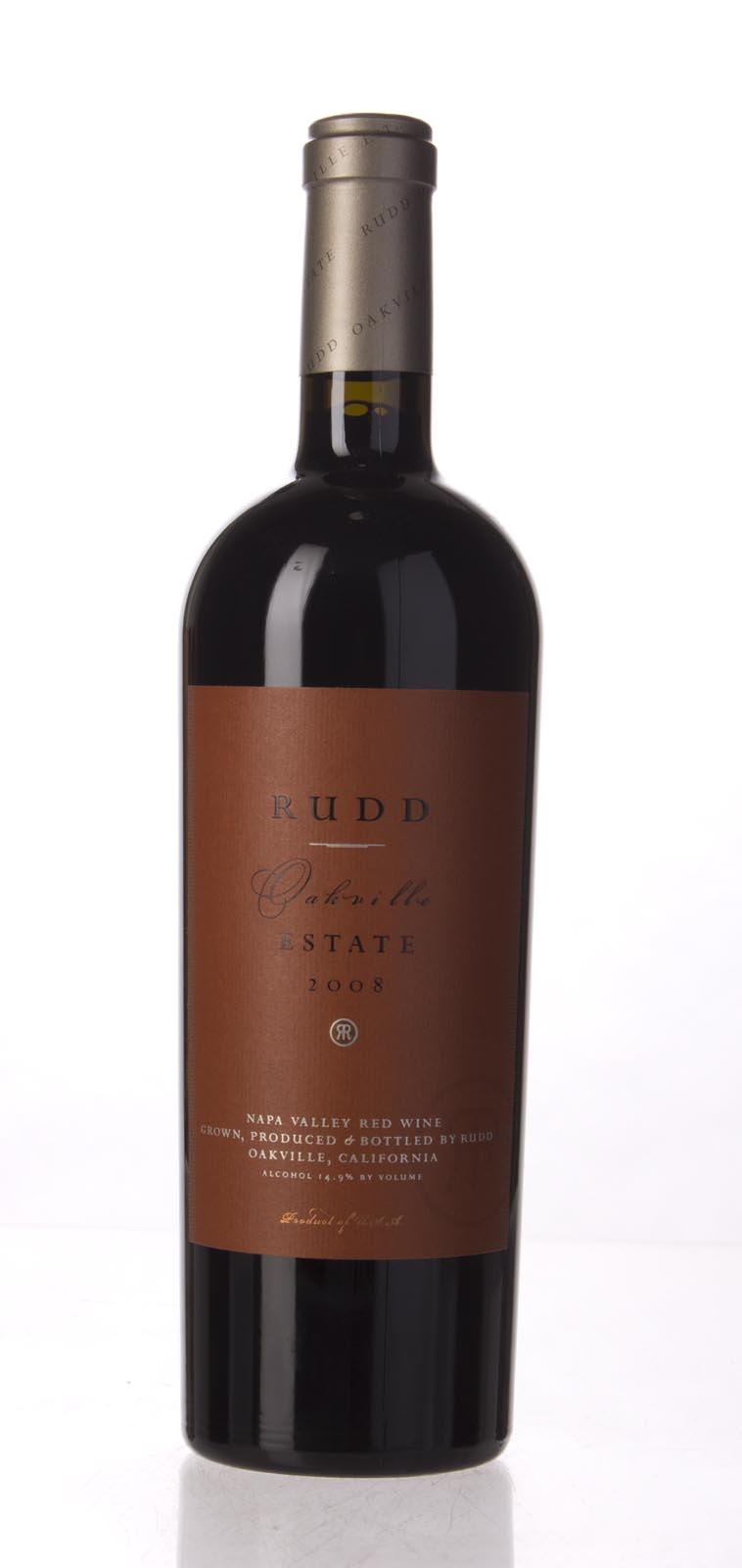 Rudd Estate Proprietary Red Oakville Estate 2008, 750mL (WA99) from The BPW - Merchants of rare and fine wines.