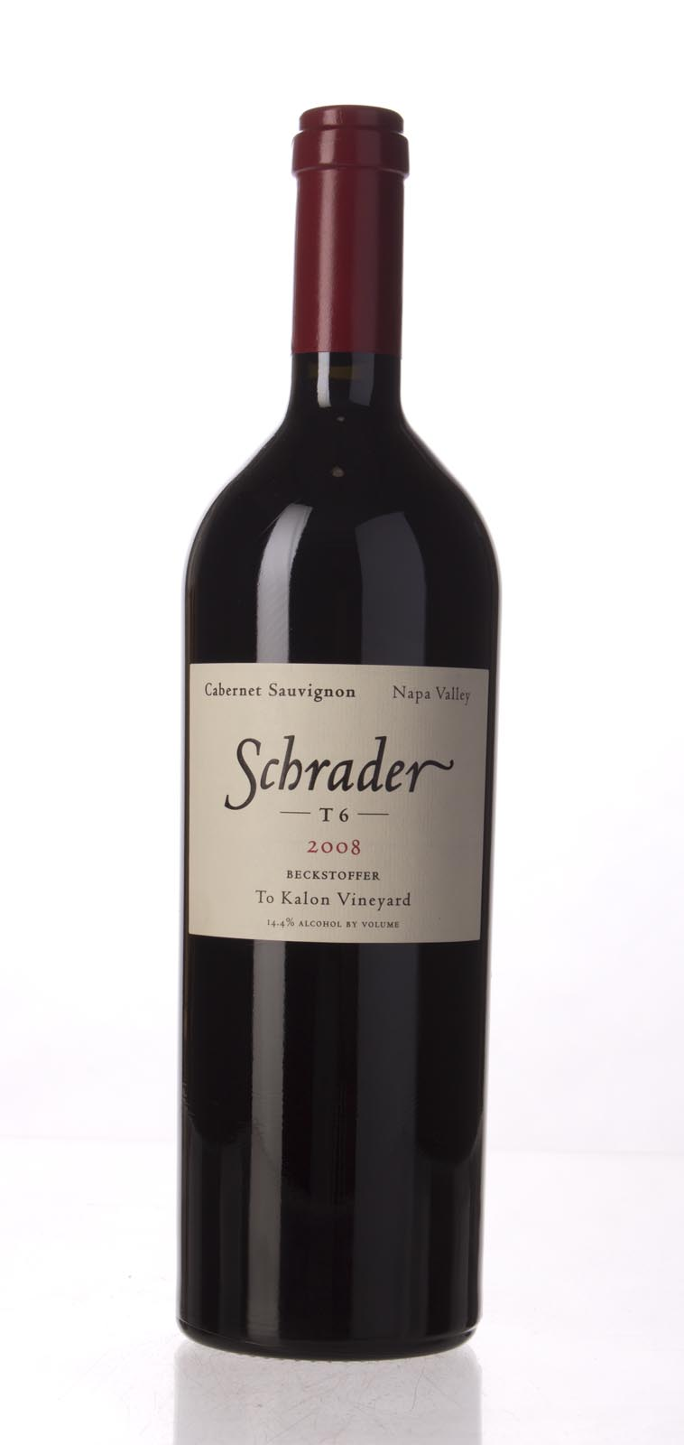 Schrader Cellars Cabernet Sauvignon Beckstoffer To Kalon Vineyard T6 2008,  (WA99) from The BPW - Merchants of rare and fine wines.