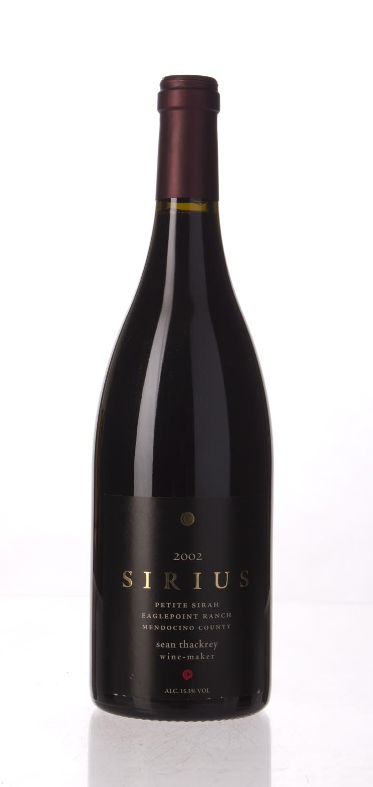 Sean Thackrey Petite Sirah Sirius 2002, 750mL (WA90) from The BPW - Merchants of rare and fine wines.