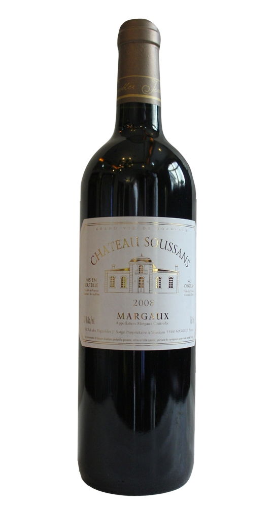 Chateau Soussans Margaux 2010,  () from The BPW - Merchants of rare and fine wines.