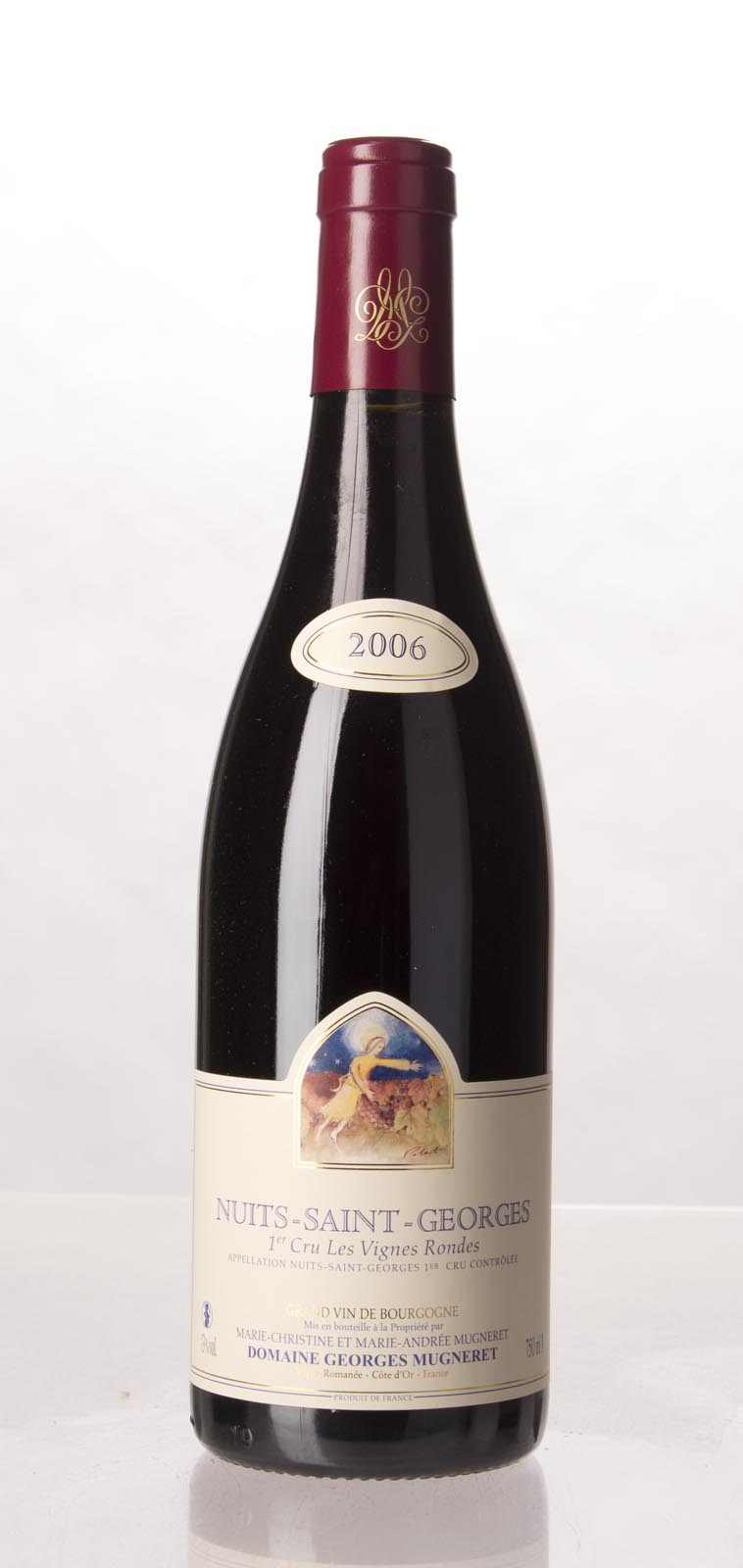 Domaine Georges Mugneret Gibourg Nuits St. Georges les Vignes Rondes 2006, 750mL () from The BPW - Merchants of rare and fine wines.