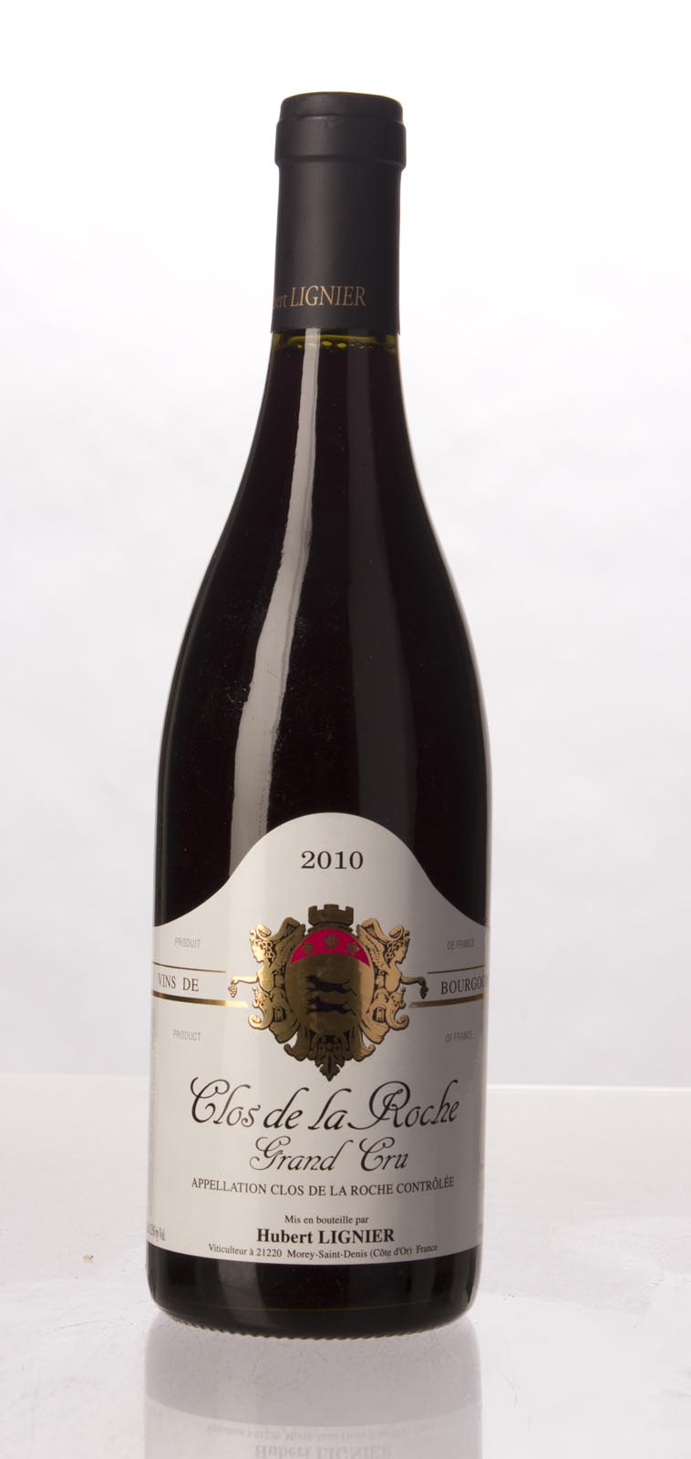 Domaine Hubert Lignier Clos de la Roche 2010, 750mL (WA93-95+) from The BPW - Merchants of rare and fine wines.