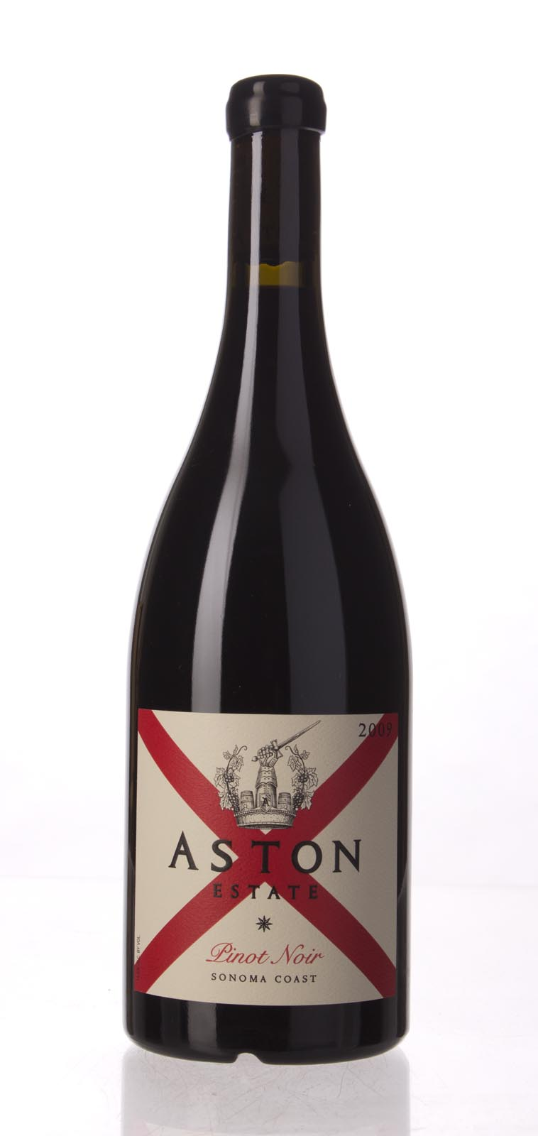 Aston Pinot Noir Sonoma Coast 2009, 750mL (WS94) from The BPW - Merchants of rare and fine wines.