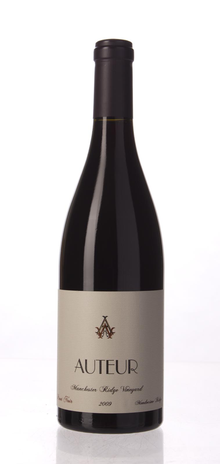 Auteur Pinot Noir Manchester Ridge 2009, 750mL (WA93, WS94) from The BPW - Merchants of rare and fine wines.