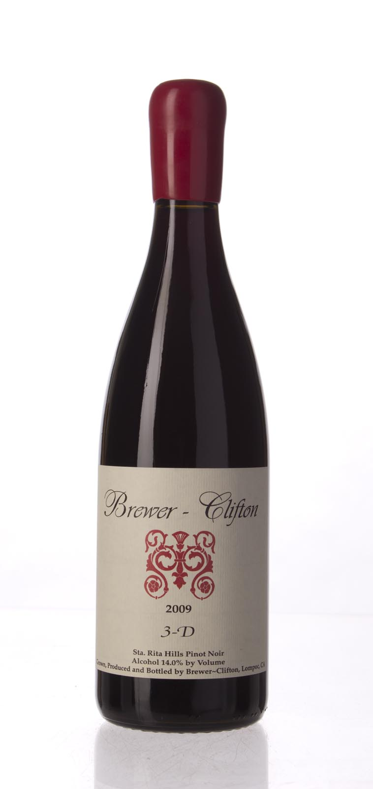 Brewer Clifton Pinot Noir 3D 2009, 750mL (JS95, ST93) from The BPW - Merchants of rare and fine wines.