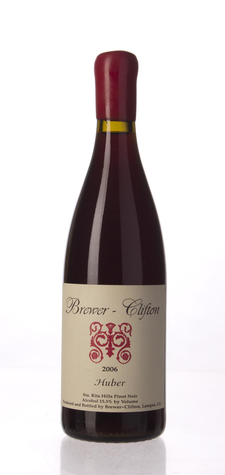 Brewer Clifton Pinot Noir Huber Vineyard 2006, 750mL () from The BPW - Merchants of rare and fine wines.