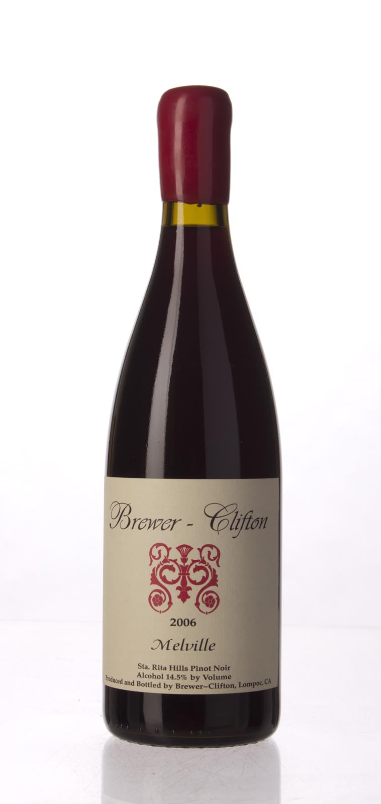 Brewer Clifton Pinot Noir Melville Vineyard 2006, 750mL (WA93, ST93) from The BPW - Merchants of rare and fine wines.