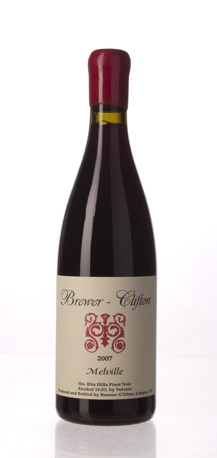 Brewer Clifton Pinot Noir Melville Vineyard 2007, 750mL (WA94, ST92) from The BPW - Merchants of rare and fine wines.