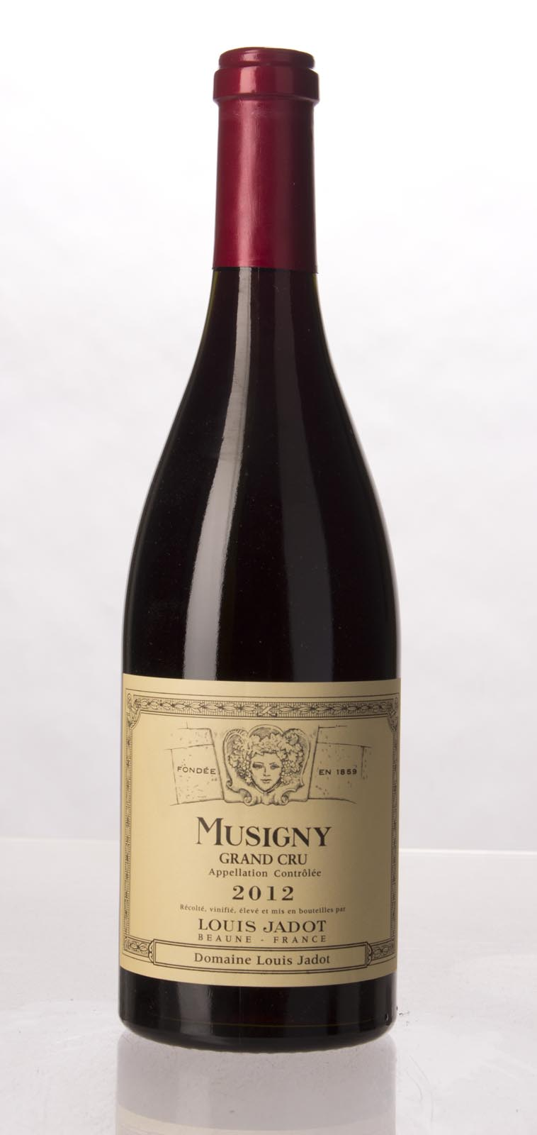 Louis Jadot Musigny 2012, 750mL (WA97-99) from The BPW - Merchants of rare and fine wines.