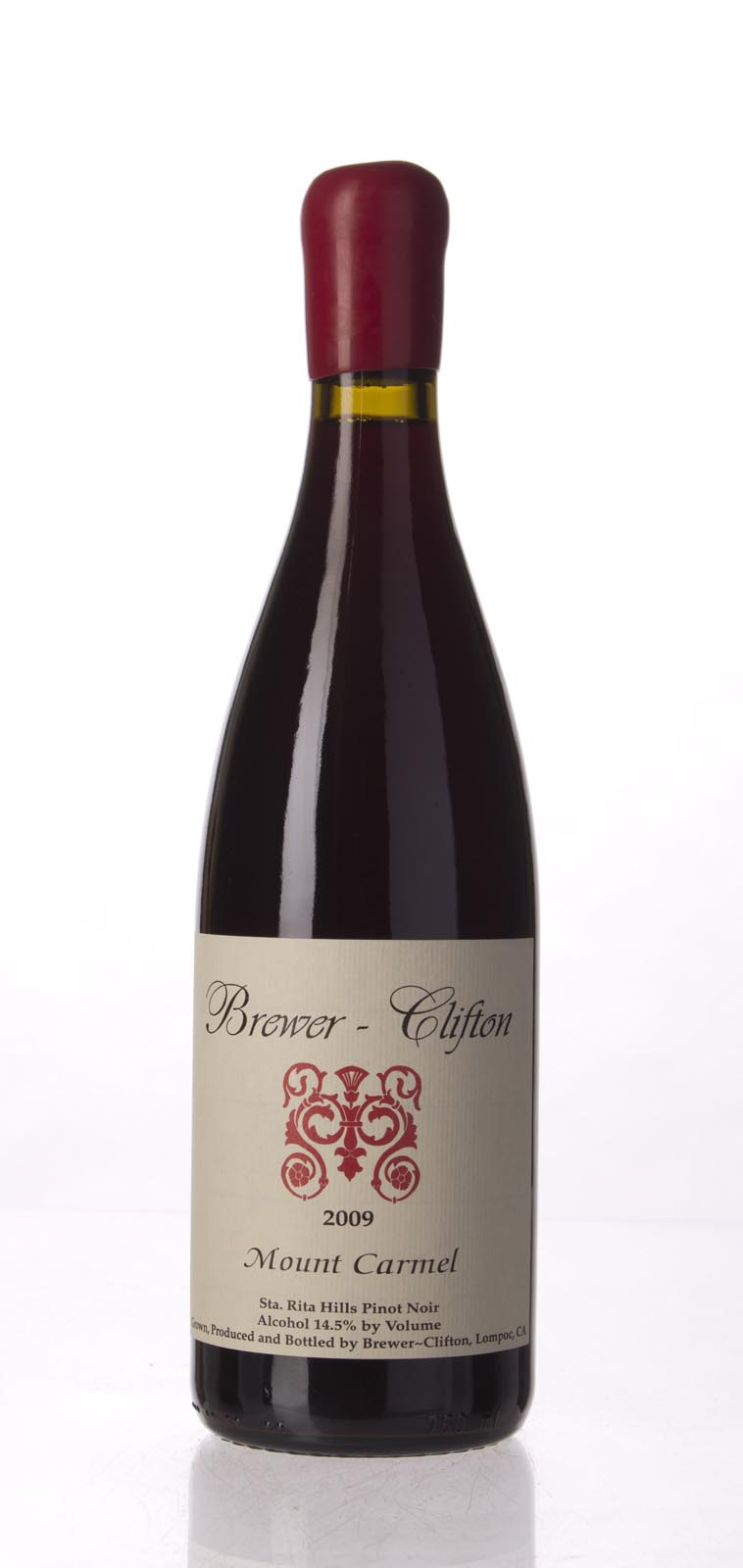 Brewer Clifton Pinot Noir Mount Carmel Vineyard 2009, 750mL (JS95, WA93, ST93) from The BPW - Merchants of rare and fine wines.