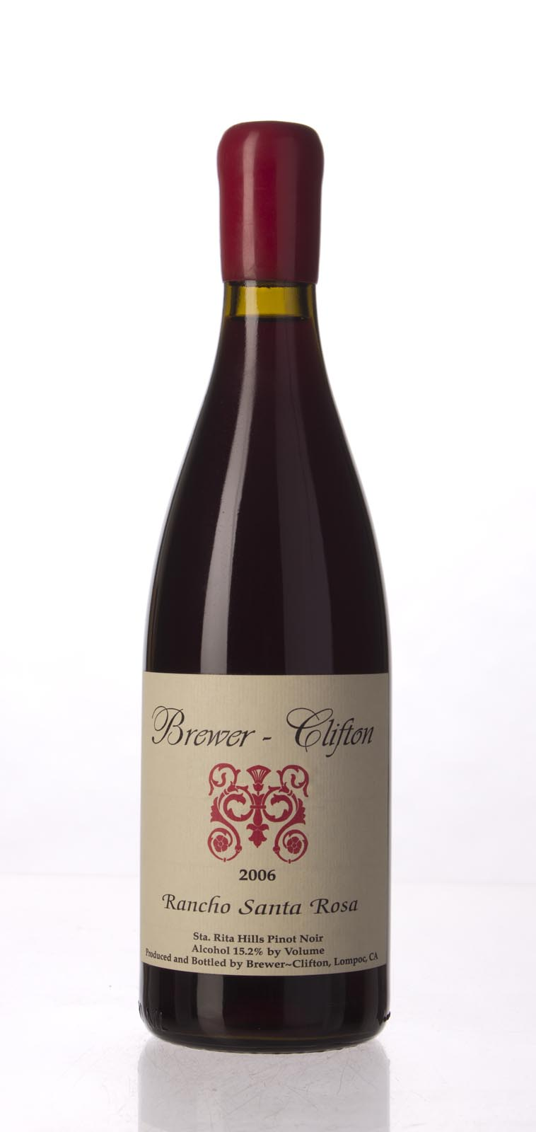 Brewer Clifton Pinot Noir Rancho Santa Rosa 2006, 750mL (WA90, ST91) from The BPW - Merchants of rare and fine wines.