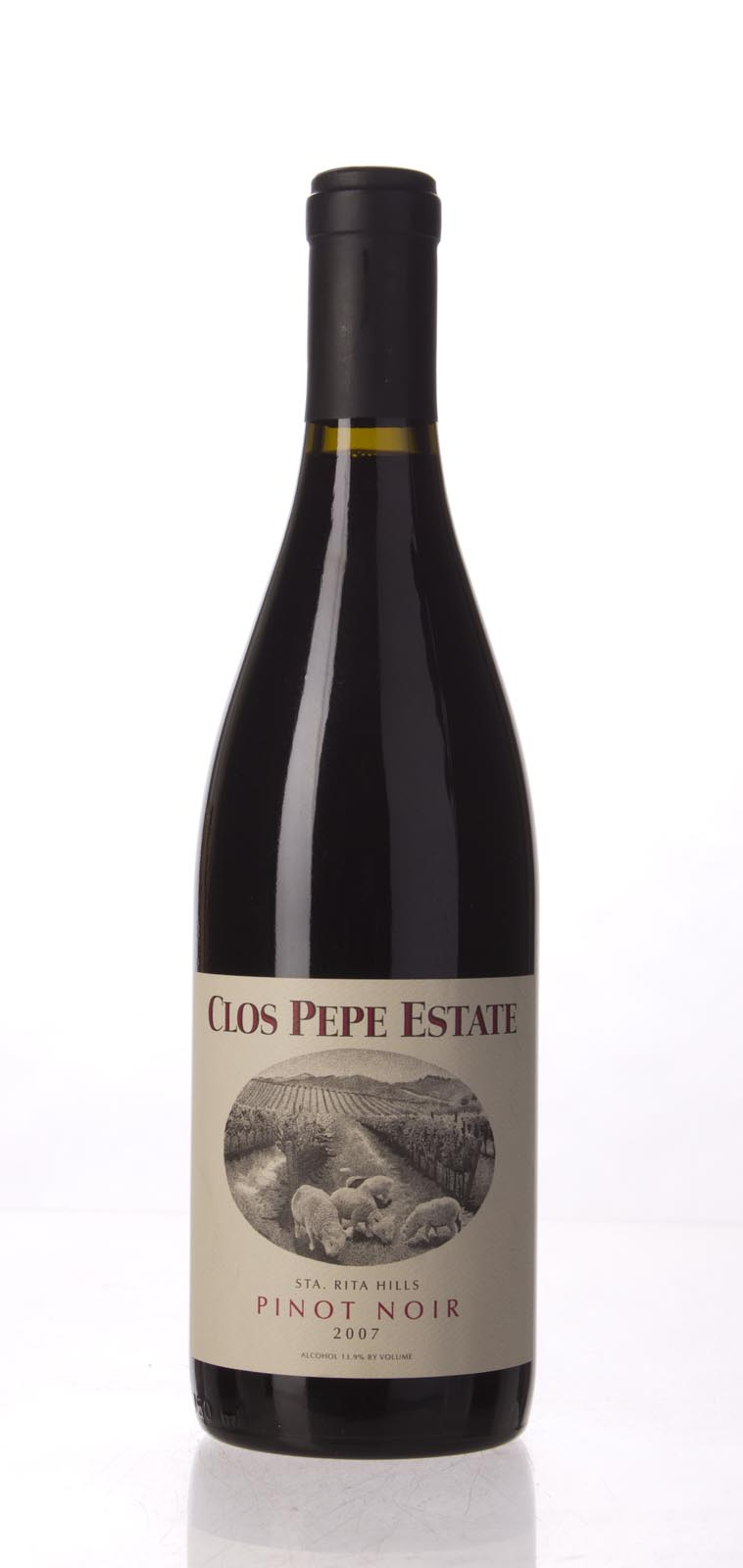 Clos Pepe Pinot Noir Estate 2007, 750mL () from The BPW - Merchants of rare and fine wines.