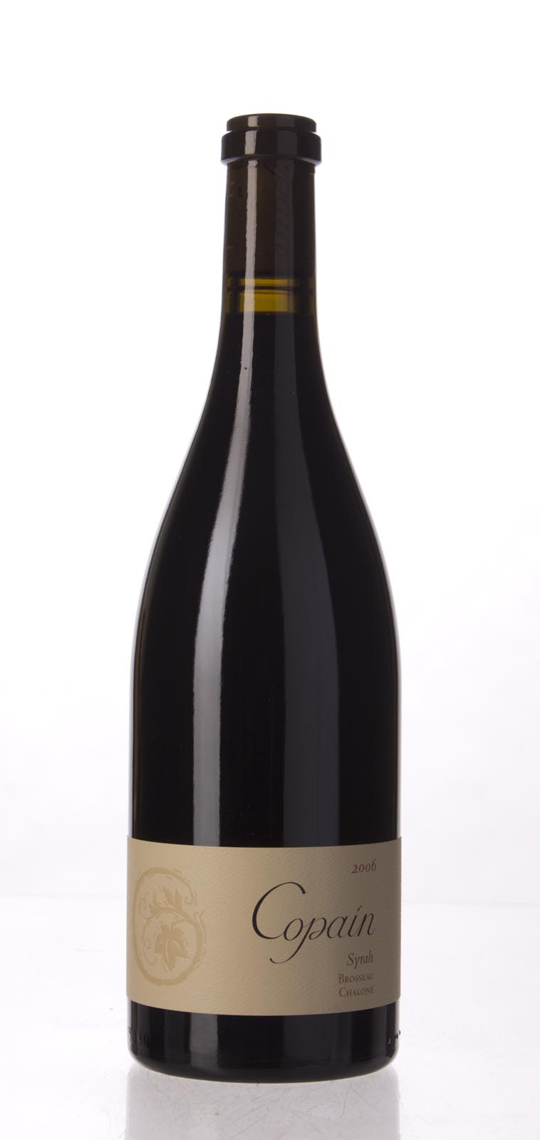 Copain Wines Syrah Brosseau Vineyard 2006, 750mL (WA94) from The BPW - Merchants of rare and fine wines.