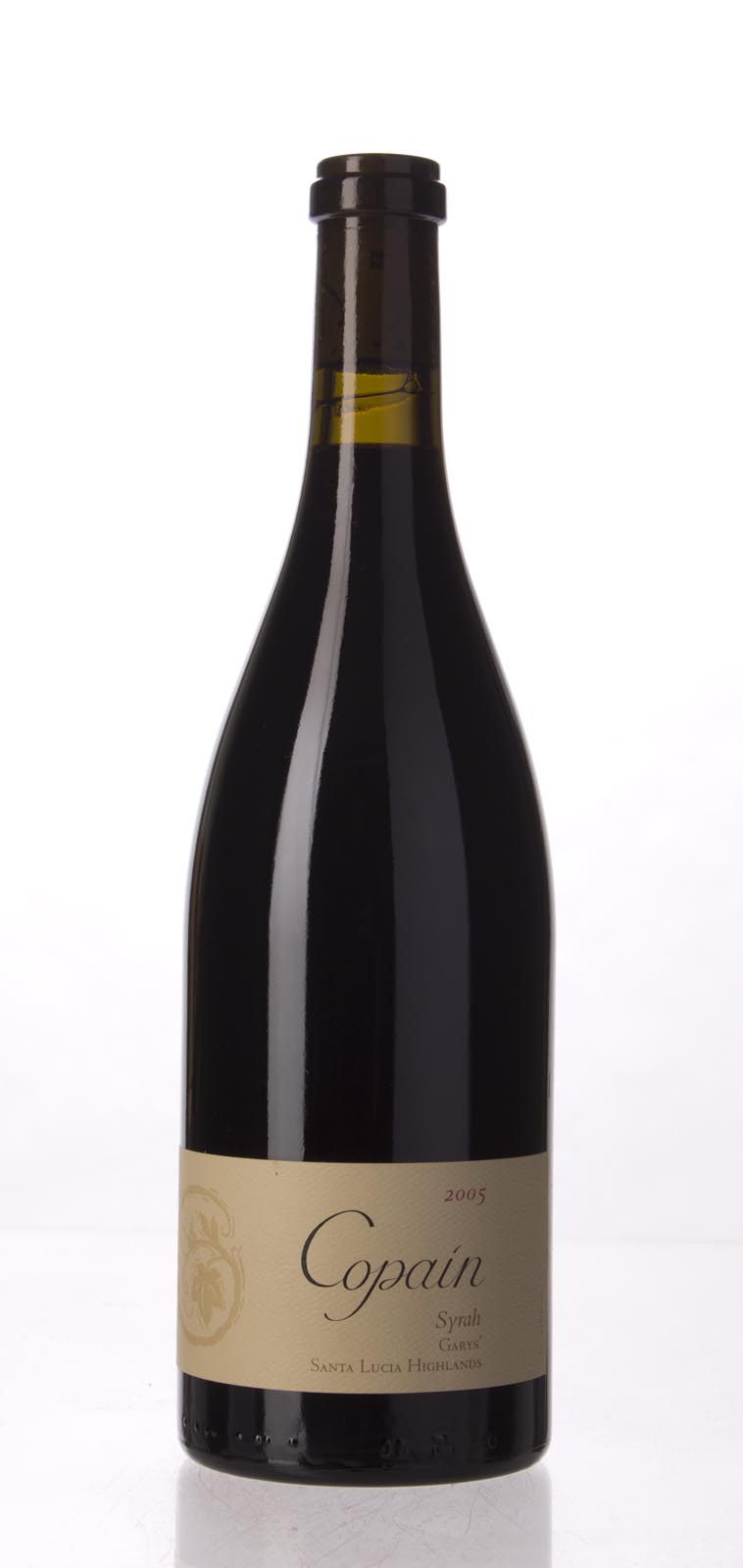 Copain Wines Syrah Garys` Vineyard 2005, 750mL (WA93, ST93) from The BPW - Merchants of rare and fine wines.
