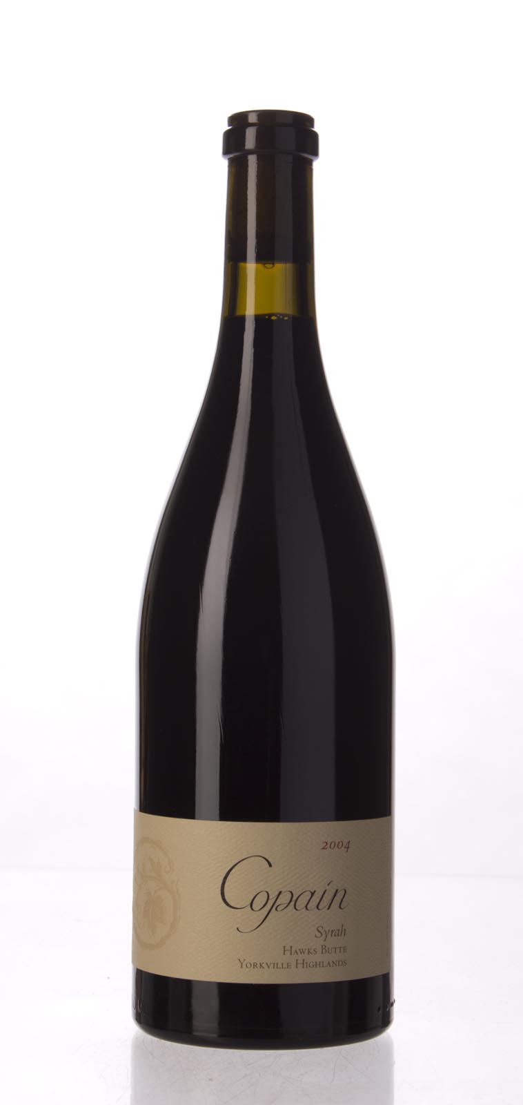 Copain Wines Syrah Hawks Butte 2004, 750mL (WA92, ST93+) from The BPW - Merchants of rare and fine wines.