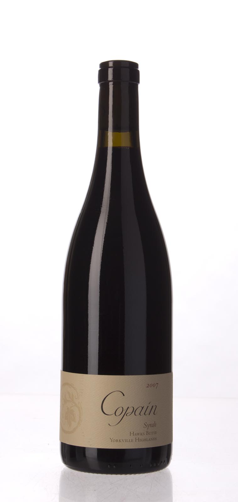 Copain Wines Syrah Hawks Butte 2007, 750mL (WA92, ST93) from The BPW - Merchants of rare and fine wines.