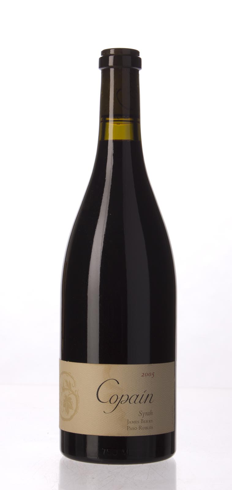 Copain Wines Syrah James Berry Vineyard 2005, 750mL (WA94) from The BPW - Merchants of rare and fine wines.