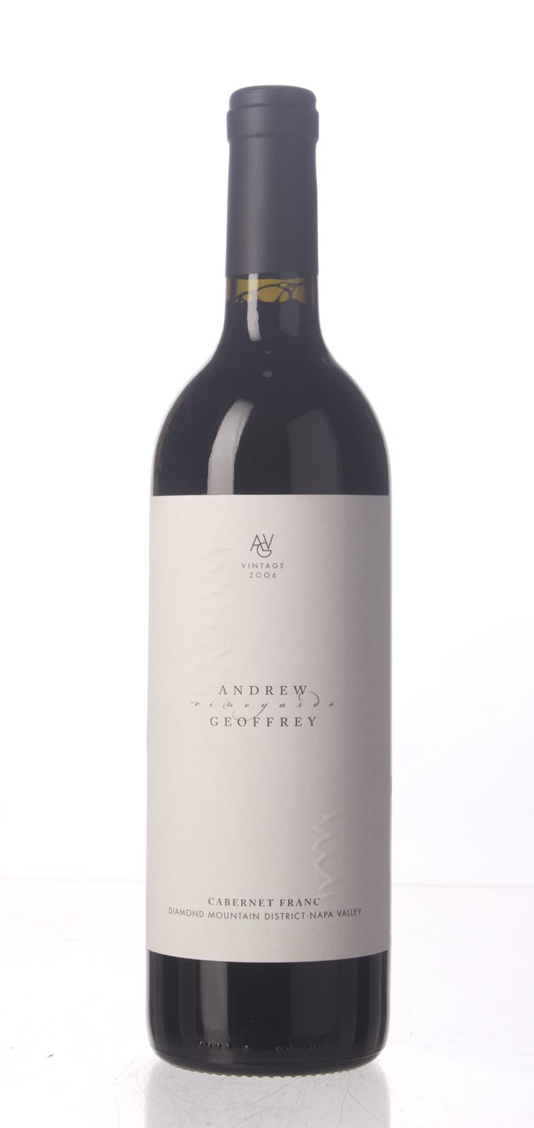 Andrew Geoffrey Cabernet Franc Diamond Mountain District 2006, 750mL () from The BPW - Merchants of rare and fine wines.