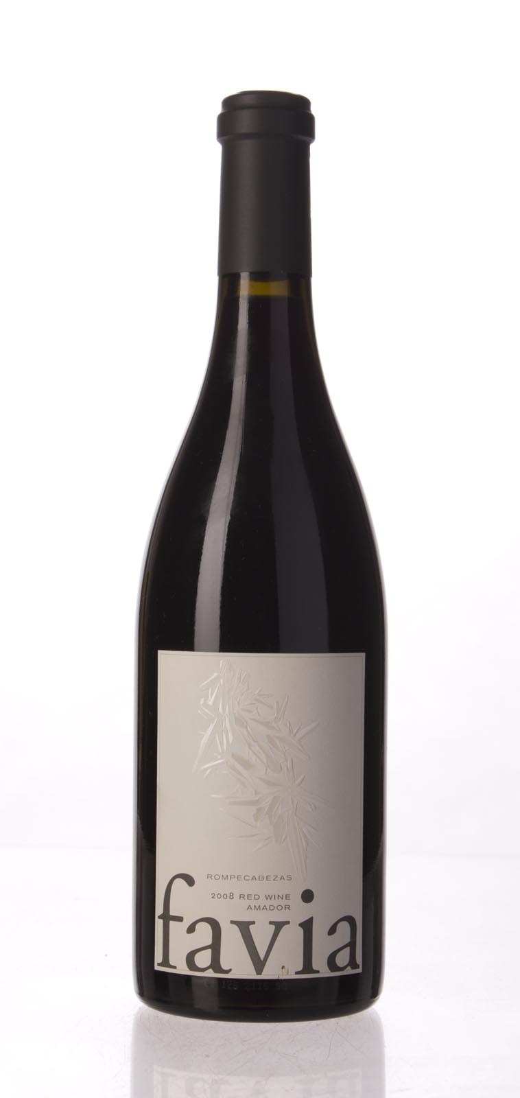 Favia Proprietary Red Rompecabezas 2008, 750mL (WS95) from The BPW - Merchants of rare and fine wines.
