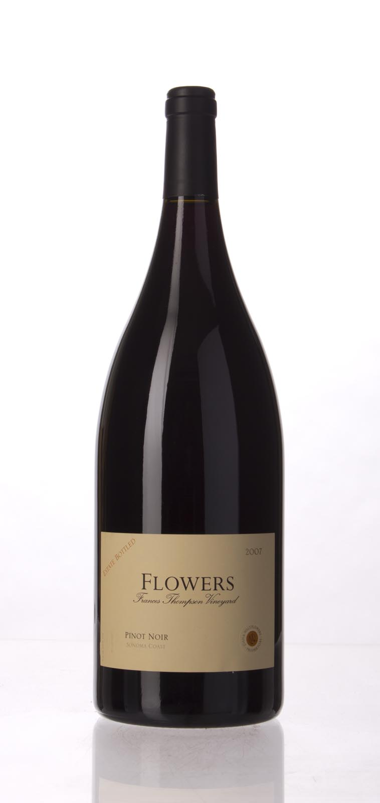 Flowers Pinot Noir Frances Thompson Vineyard 2007, 1.5L () from The BPW - Merchants of rare and fine wines.