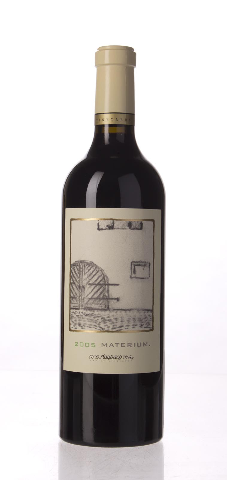 Maybach Family Vineyards Cabernet Sauvignon Materium 2005, 750mL (WA96) from The BPW - Merchants of rare and fine wines.
