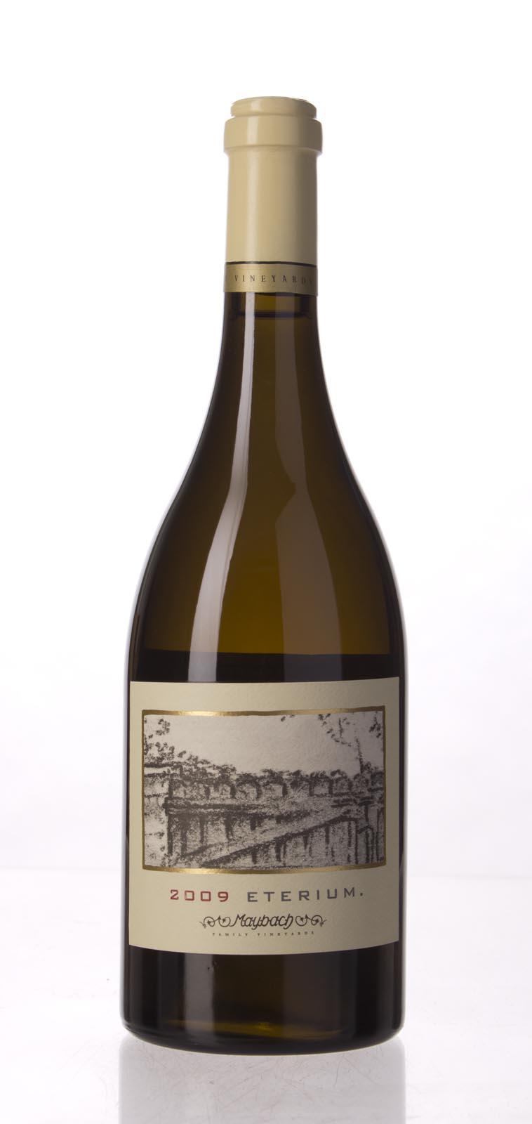Maybach Family Vineyards Chardonnay Eterium 2009, 750mL (WS95) from The BPW - Merchants of rare and fine wines.