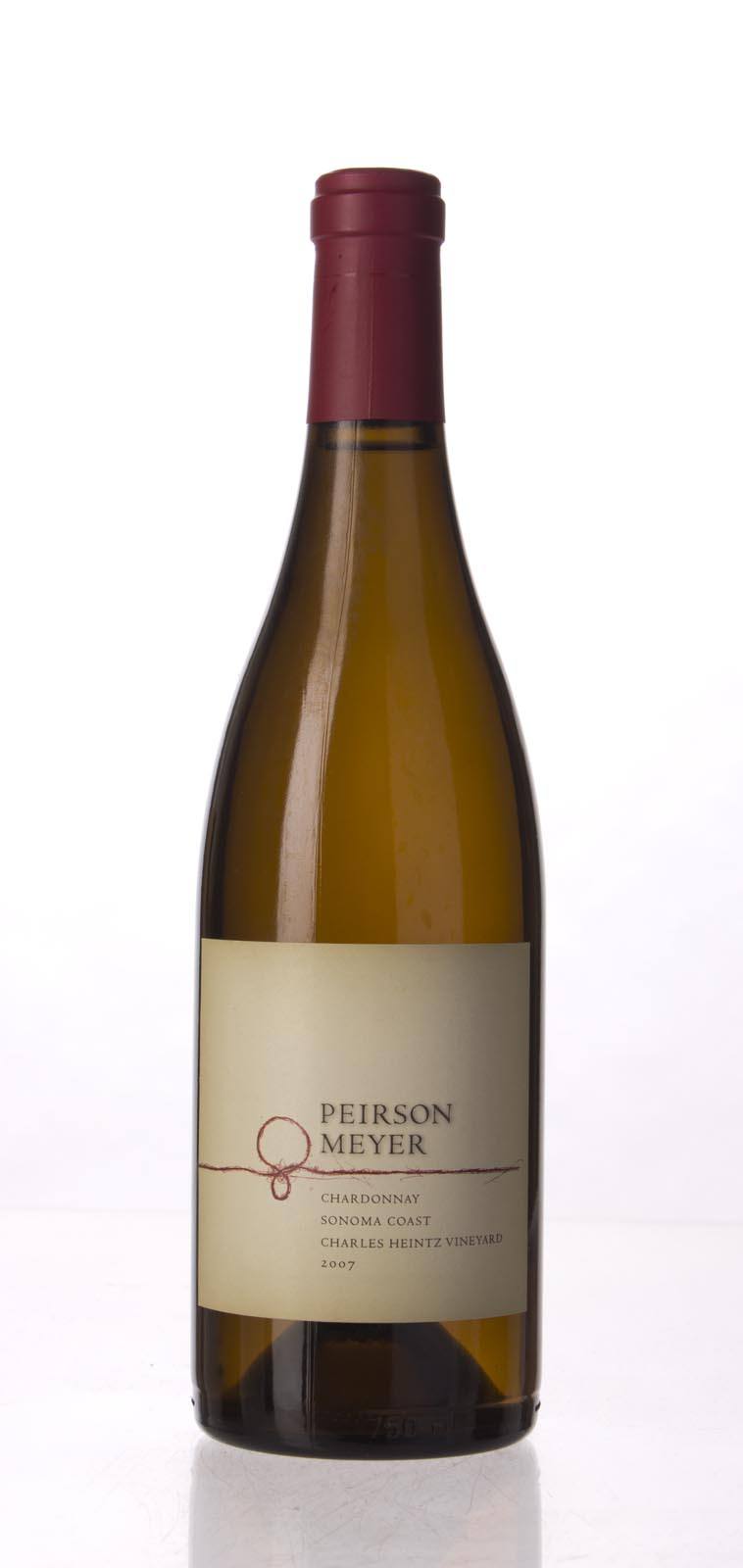 Peirson Meyer Chardonnay Charles Heintz Vineyard 2007, 750mL (WA95, WS93) from The BPW - Merchants of rare and fine wines.