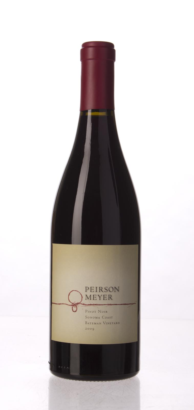 Peirson Meyer Pinot Noir Sonoma Bateman Vineyard 2009, 750mL () from The BPW - Merchants of rare and fine wines.