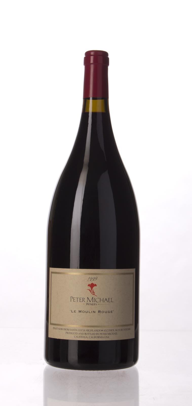 Peter Michael Winery Pinot Noir le Moulin Rouge 1999, 1.5L (WA90-93) from The BPW - Merchants of rare and fine wines.