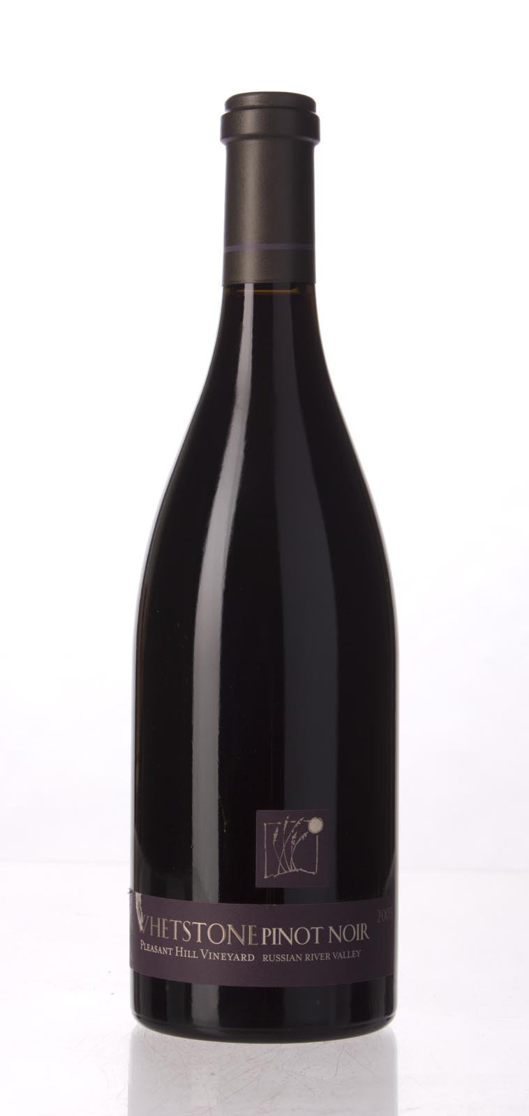 Whetstone Pinot Noir Pleasant Hill 2005, 750mL (ST90) from The BPW - Merchants of rare and fine wines.