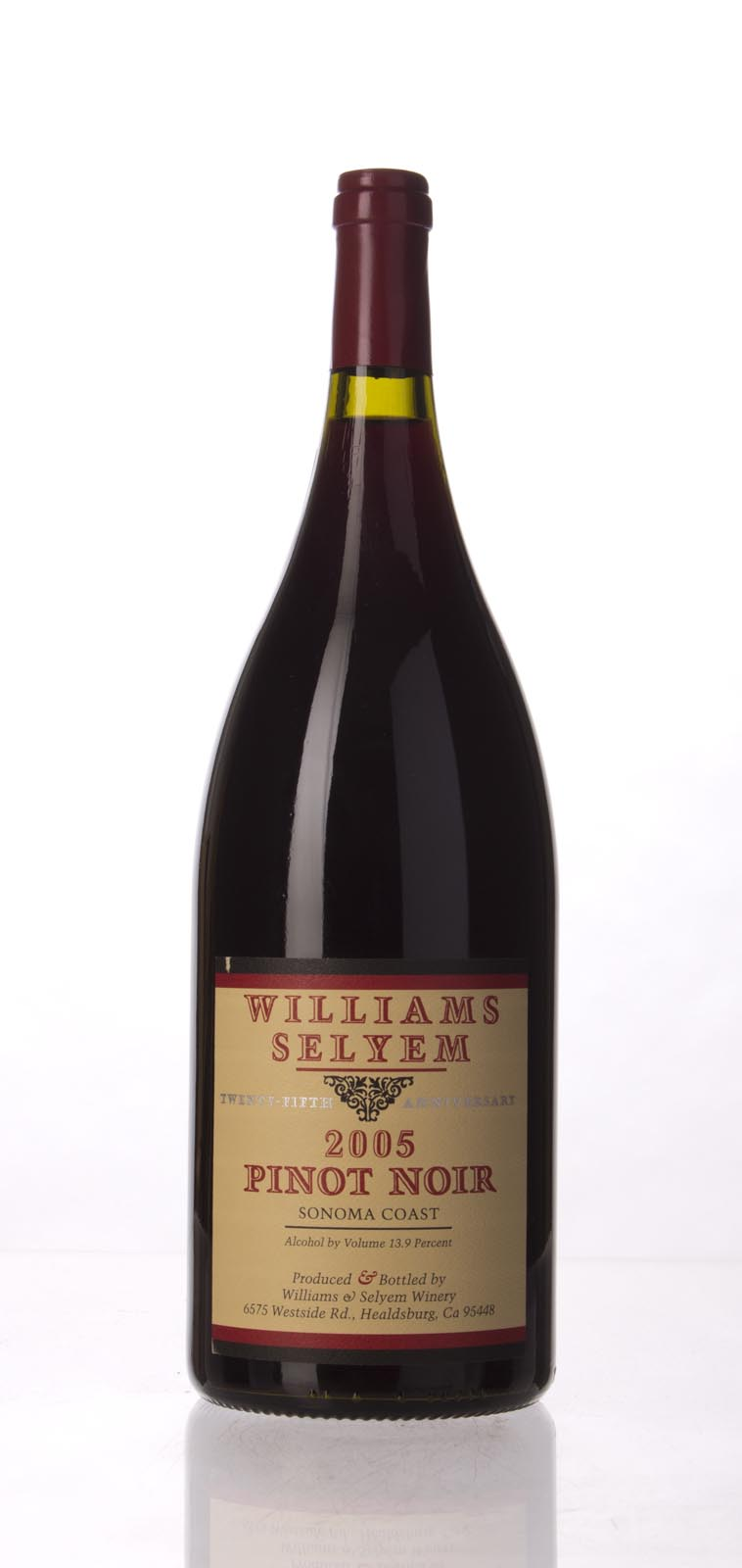 Williams Selyem Pinot Noir Sonoma Coast 2005, 1.5L (ST90) from The BPW - Merchants of rare and fine wines.