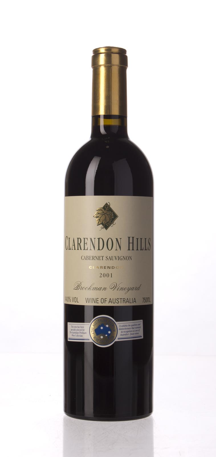 Clarendon Hills Cabernet Sauvignon Brookman Vineyard 2001, 750mL (WA88) from The BPW - Merchants of rare and fine wines.