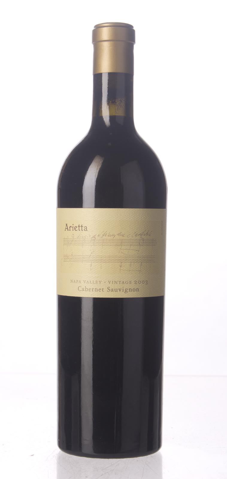 Arietta Cabernet Sauvignon Napa Valley 2003, 750mL () from The BPW - Merchants of rare and fine wines.