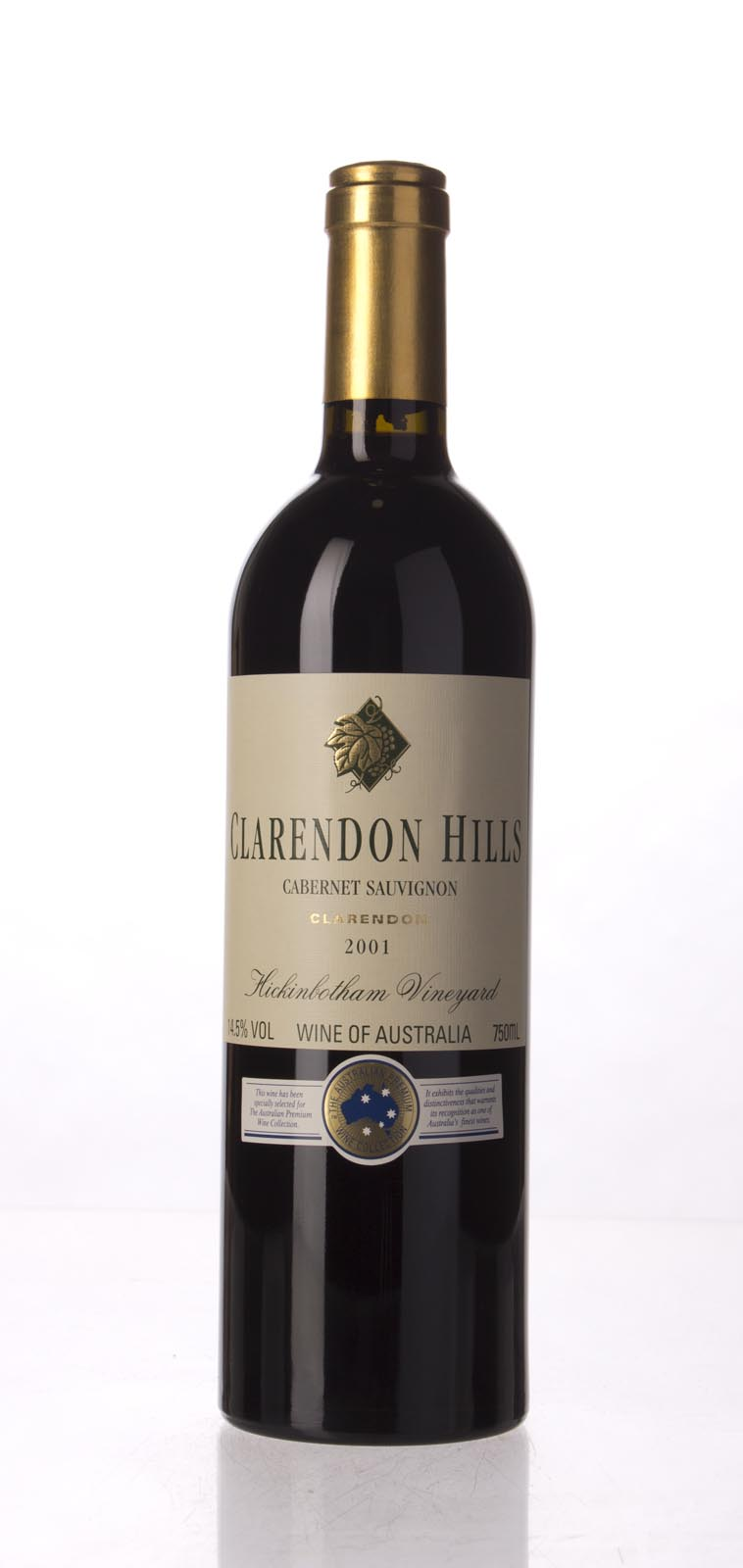 Clarendon Hills Cabernet Sauvignon Hickinbotham Vineyard 2001, 750mL (WA91) from The BPW - Merchants of rare and fine wines.