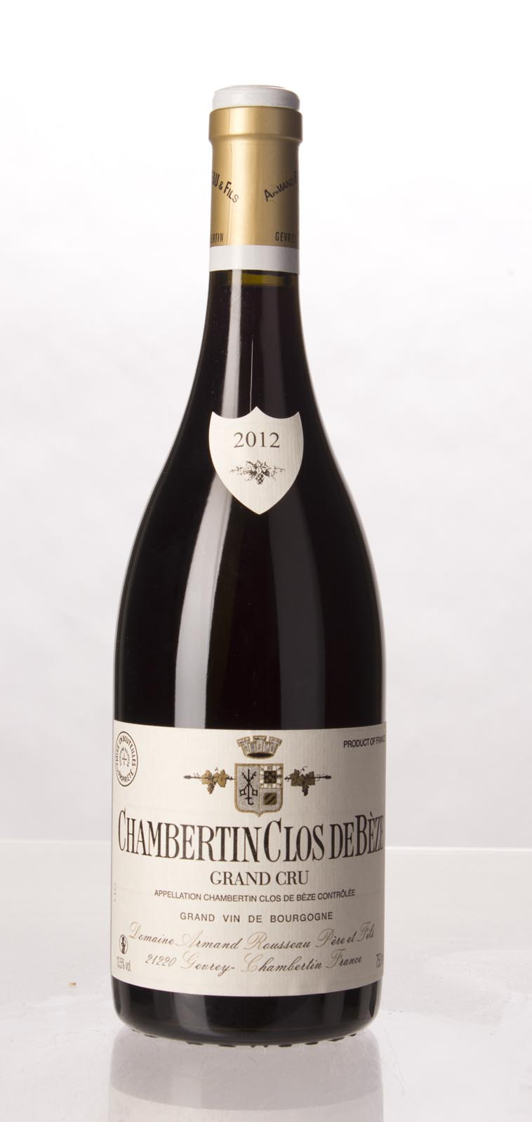 Domaine Armand Rousseau Chambertin Clos de Beze 2012, 750mL (WA97, VN95+, BH97) from The BPW - Merchants of rare and fine wines.
