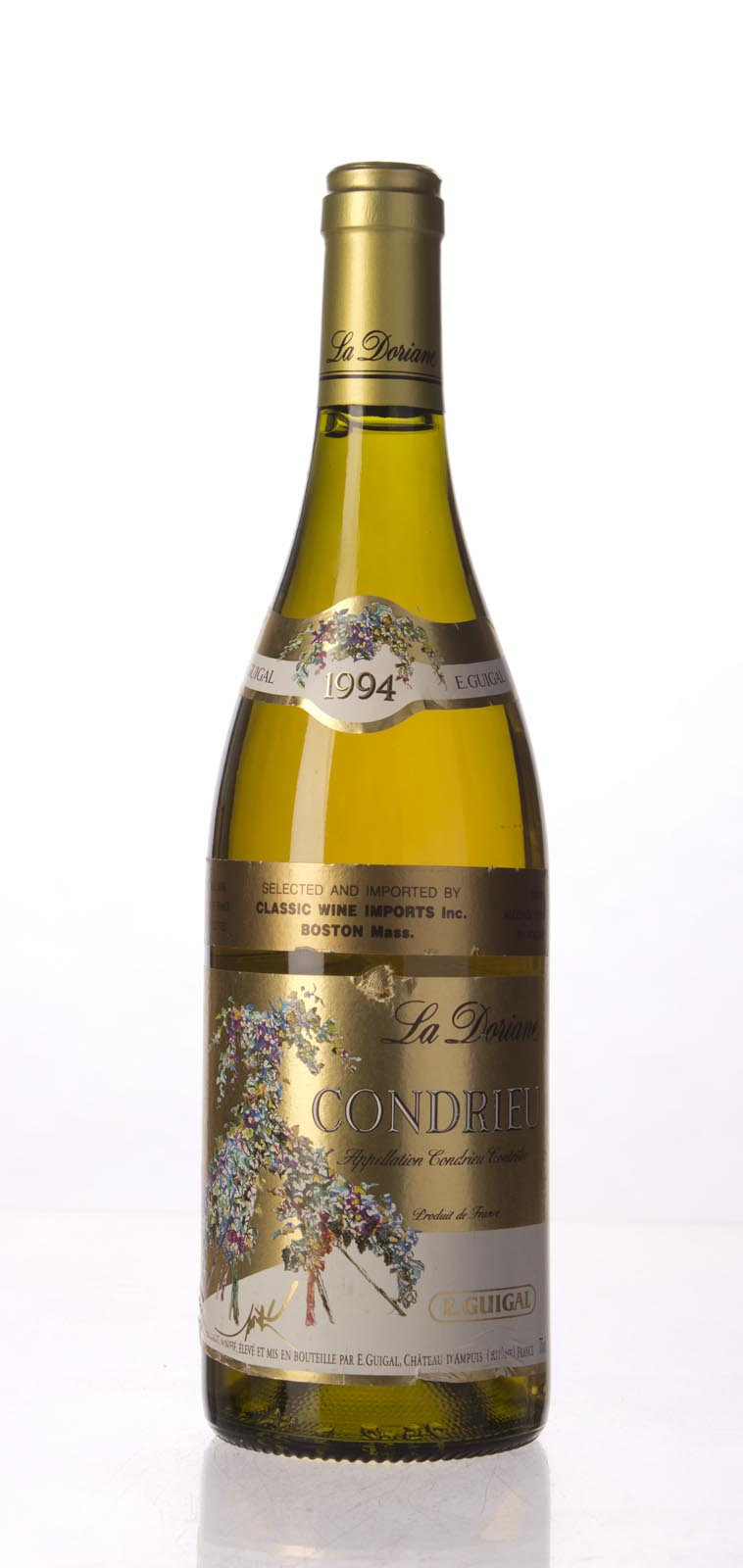 Guigal Condrieu la Doriane 1994, 750mL (WA94) from The BPW - Merchants of rare and fine wines.