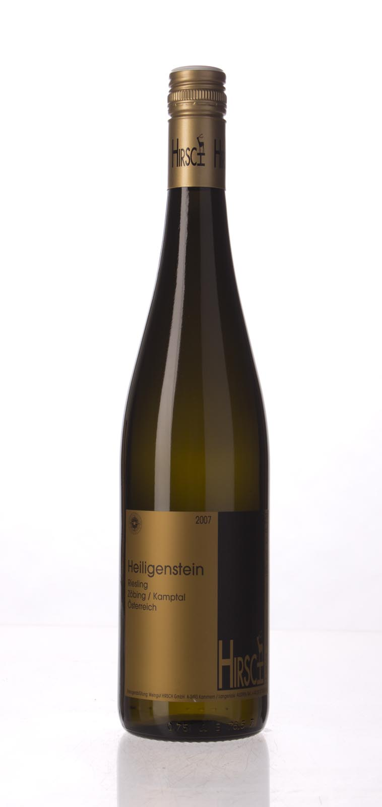 Hirsch Riesling Heiligenstein 2007, 750mL (WA94, ST94) from The BPW - Merchants of rare and fine wines.