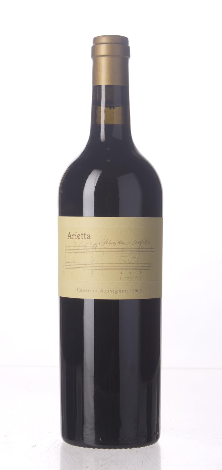 Arietta Cabernet Sauvignon Napa Valley 2005, 750mL (ST92+) from The BPW - Merchants of rare and fine wines.
