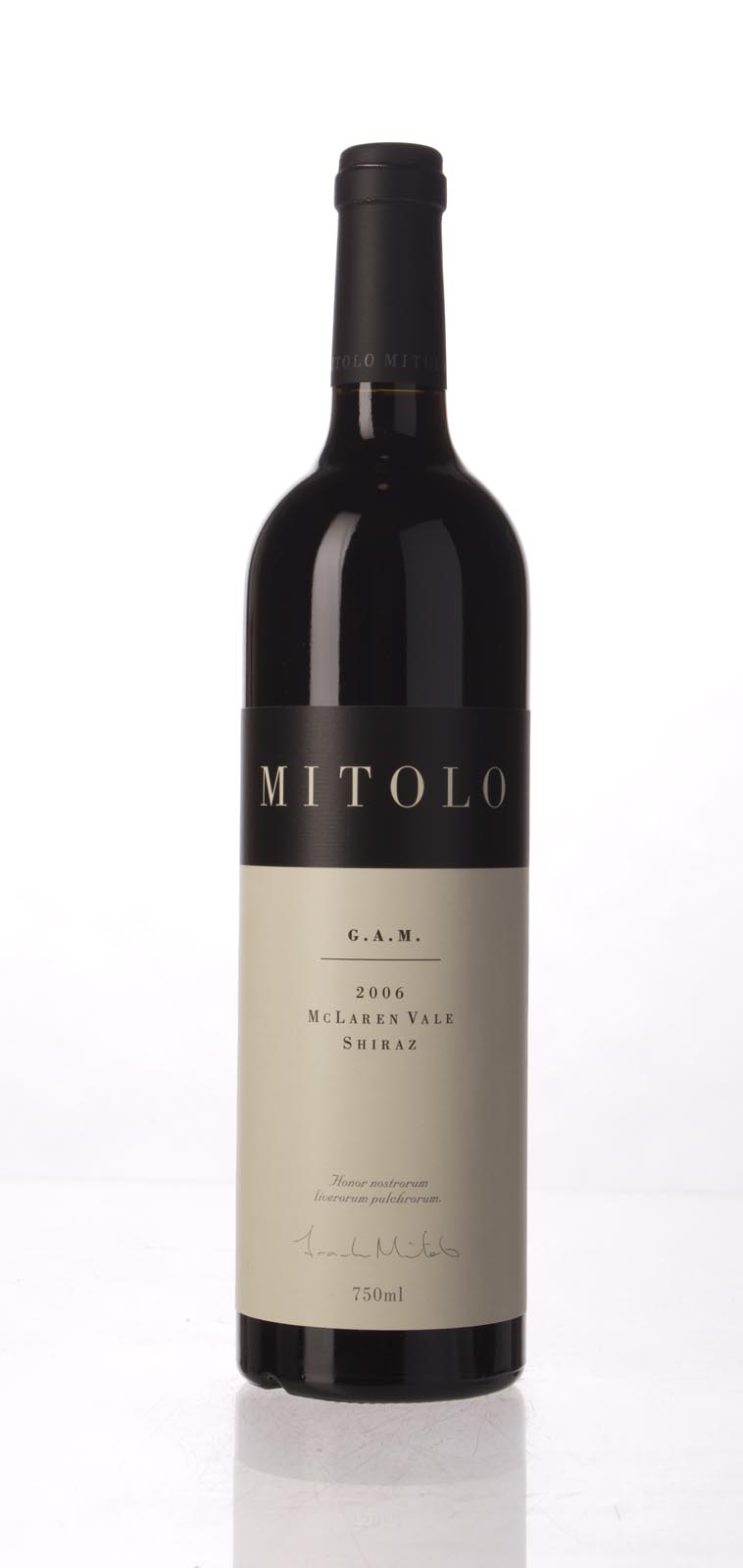 Mitolo Shiraz G.A.M. 2006, 750mL (WA95) from The BPW - Merchants of rare and fine wines.