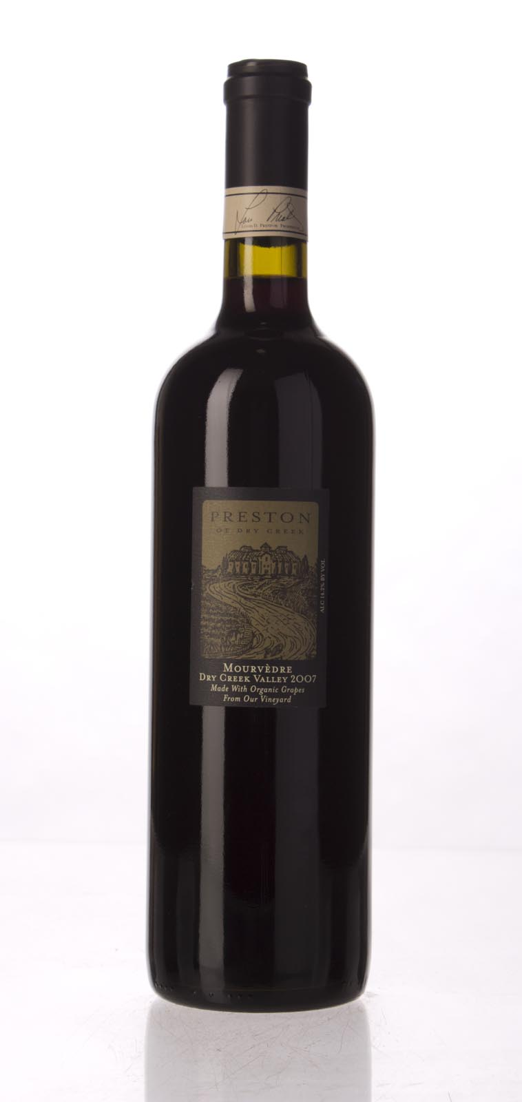Preston Mourvedre 2007, 750mL () from The BPW - Merchants of rare and fine wines.