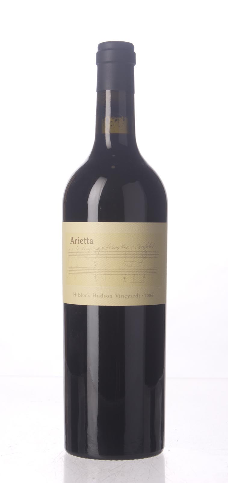 Arietta Proprietary Red H Block Hudson Vineyard 2004, 750mL (ST90+) from The BPW - Merchants of rare and fine wines.