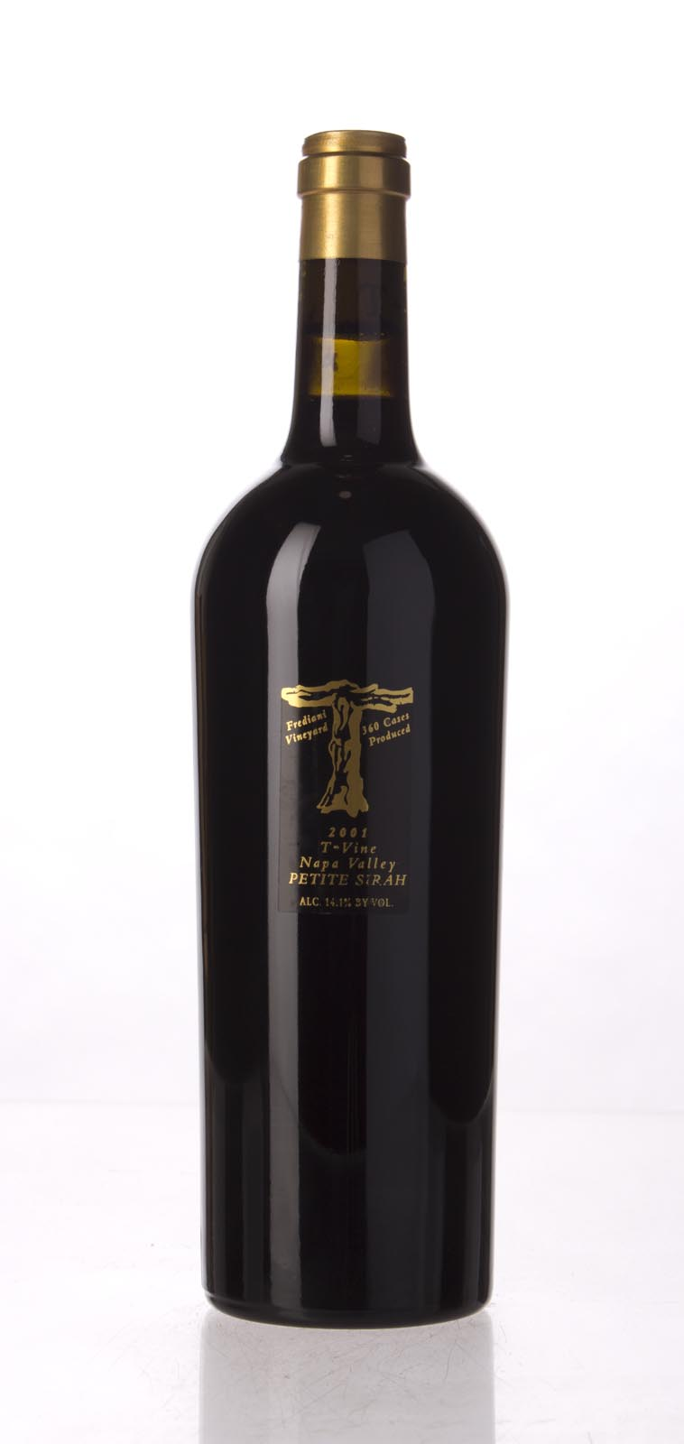 T Vine Petite Sirah Napa Valley 2001, 750mL () from The BPW - Merchants of rare and fine wines.