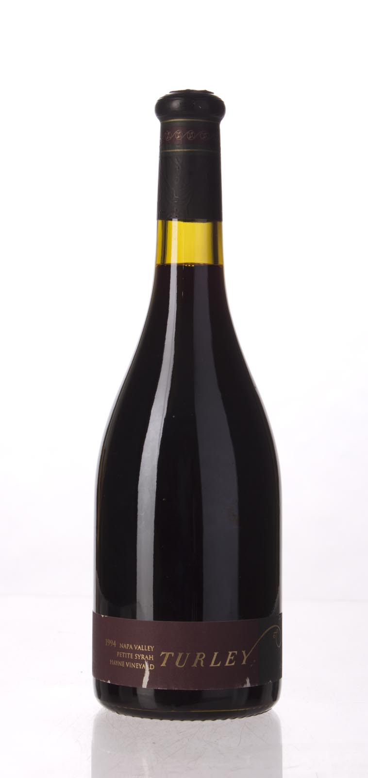 Turley Wine Cellars Petite Sirah Hayne Vineyard 1994, 750mL (WA97-99) from The BPW - Merchants of rare and fine wines.