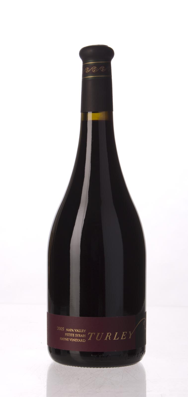 Turley Wine Cellars Petite Sirah Hayne Vineyard 2005, 750mL (WA92-94) from The BPW - Merchants of rare and fine wines.