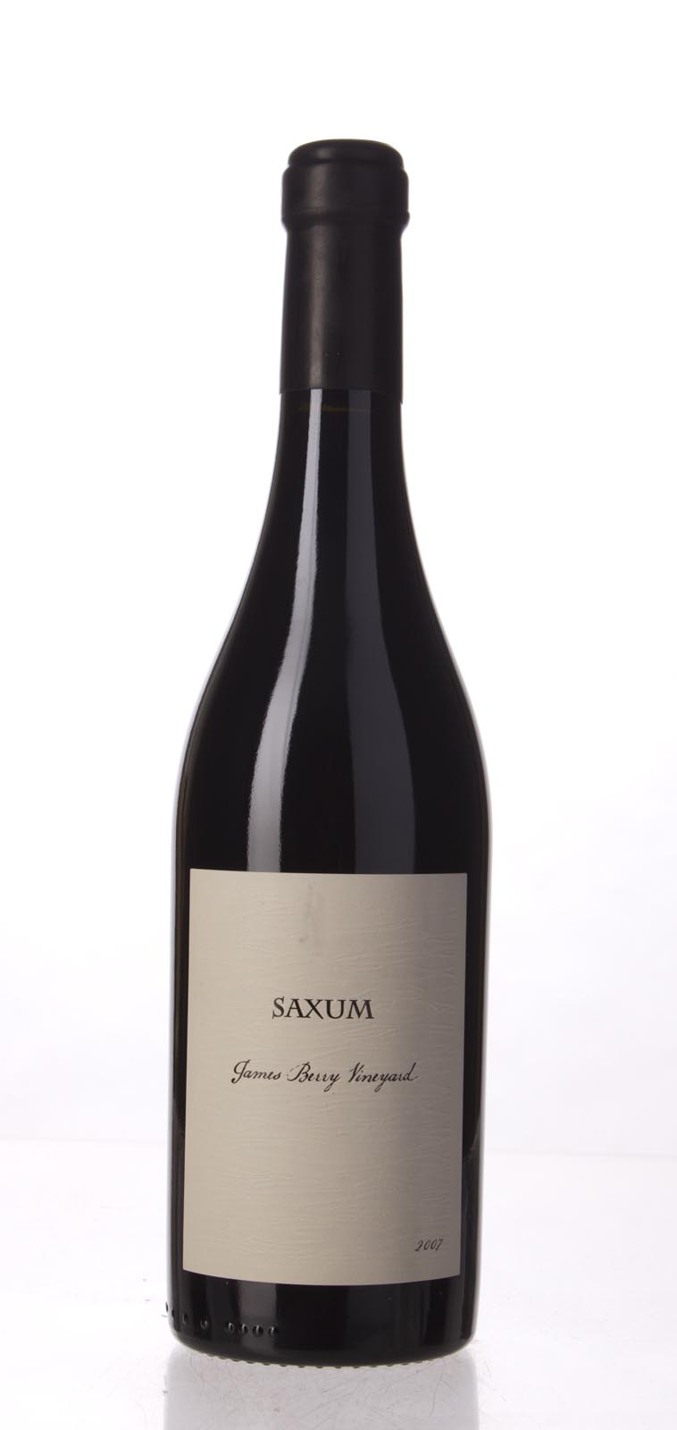 Saxum Proprietary Red James Berry Vineyard 2007, 750mL (WA100, WS98) from The BPW - Merchants of rare and fine wines.