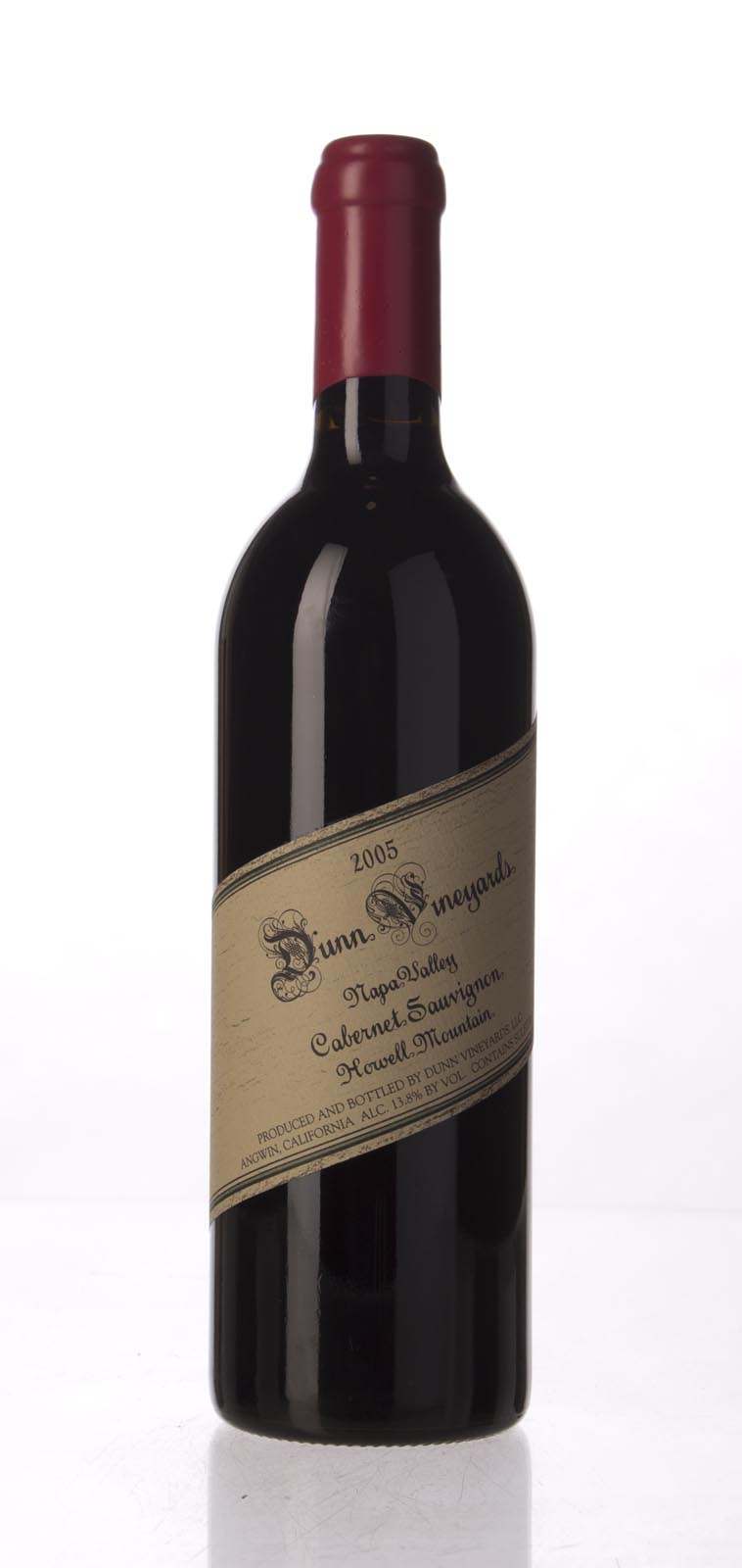Dunn Cabernet Sauvignon Howell Mountain 2005, 750mL (WA94, ST93) from The BPW - Merchants of rare and fine wines.