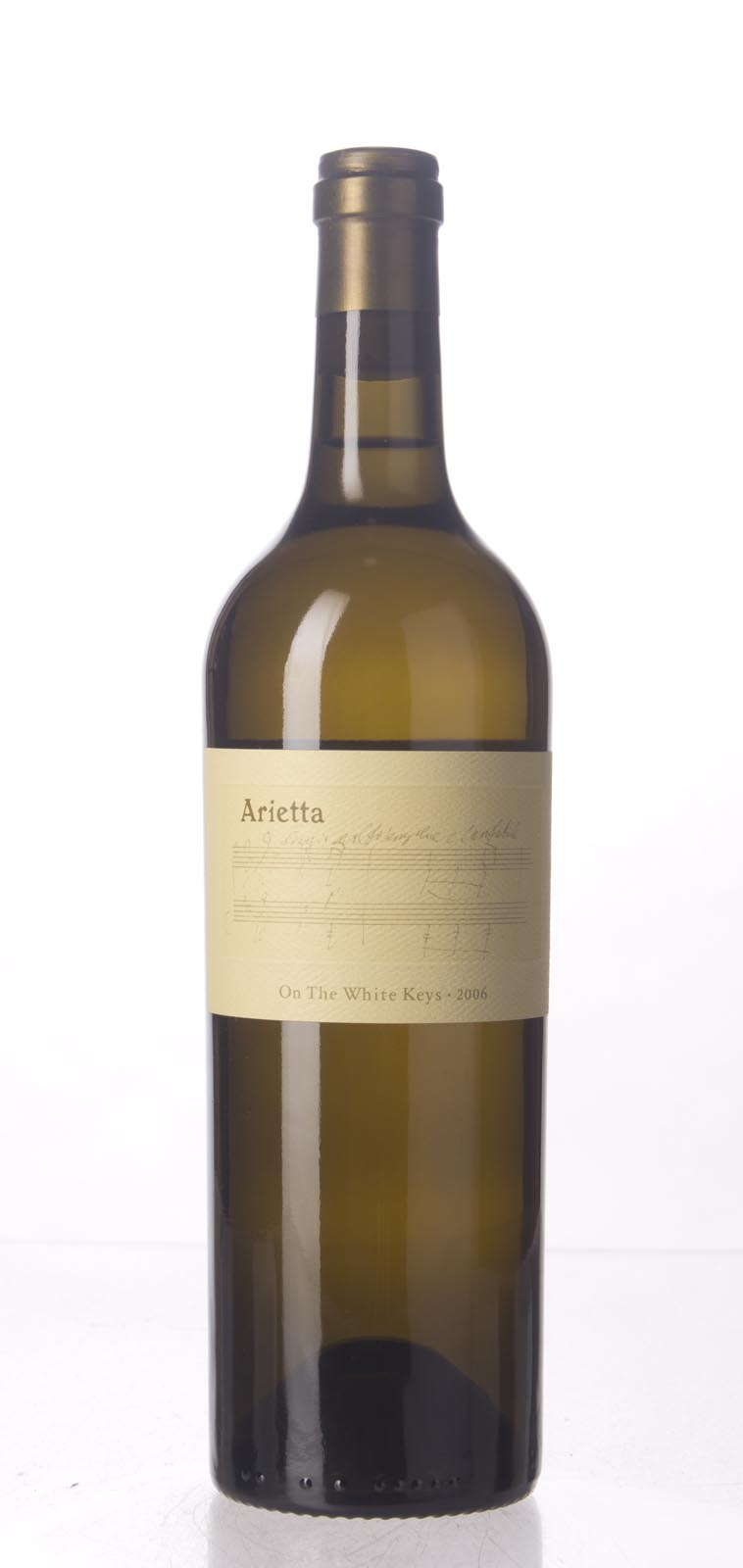 Arietta Proprietary White The White Keys 2006, 750mL (ST93) from The BPW - Merchants of rare and fine wines.